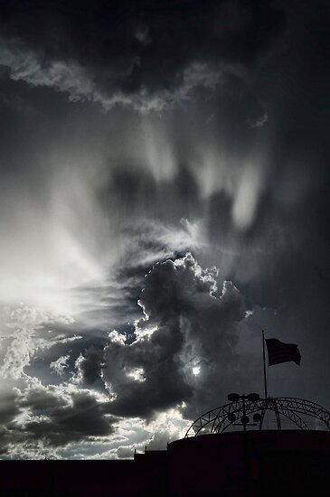 As the Sky Gets Darker  by Saija  Lehtonen