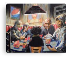 The Placebo Eaters Canvas Print