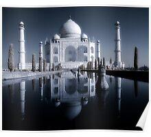 Taj Mahal, infra red. Poster