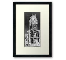 Gothic Death Framed Print
