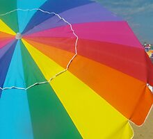 Beach Umbrella by Tina  Bark