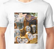 Time melting away  Unisex T-Shirt