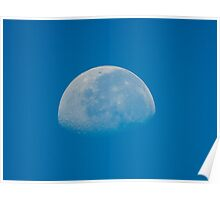 The Moon Today 8/30/2010 at 9:13 am Poster