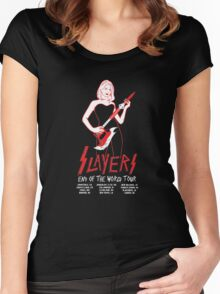 Slayers:End of the World Tour Women's Fitted Scoop T-Shirt