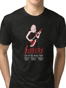 Slayers:End of the World Tour Tri-blend T-Shirt