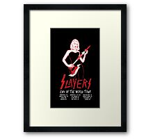 Slayers:End of the World Tour Framed Print