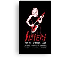 Slayers:End of the World Tour Canvas Print