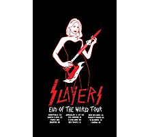 Slayers:End of the World Tour Photographic Print