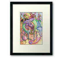 Goblin Empress of the dragons Framed Print