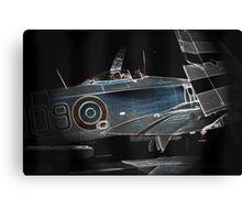 The Folding Aeroplane Canvas Print