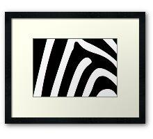 On safari  Framed Print