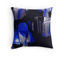 Optimus Prime Masks Throw Pillow