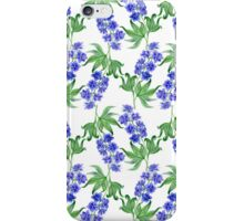 Delphinium watercolor iPhone Case/Skin