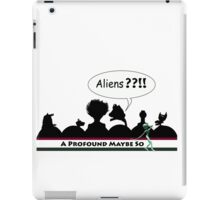 Giorgio's Visit to the Theater iPad Case/Skin