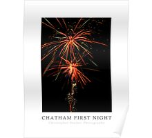 Chatham First Night Poster (Chatham, Cape Cod) Poster