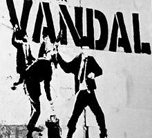 Chequebook Vandal  by areyarey