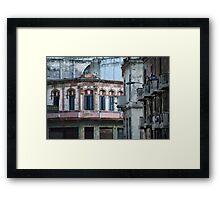 Aideu Cuba Framed Print