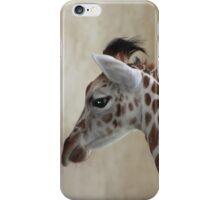 Newborn Giraffe iPhone Case/Skin