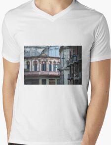Aideu Cuba Mens V-Neck T-Shirt