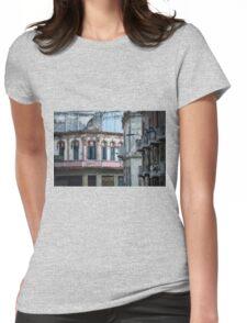 Aideu Cuba Womens Fitted T-Shirt