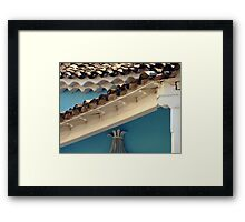 On top  Framed Print