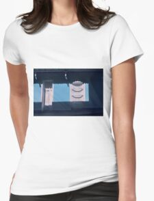 A place I dont feel alone  Womens Fitted T-Shirt
