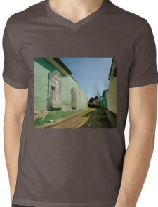 Lazing on a sunny afternoon  Mens V-Neck T-Shirt