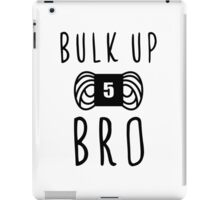 bulk up bro funny yarn knit crochet iPad Case/Skin
