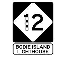 NC 12 - Bodie Island Lighthouse Photographic Print