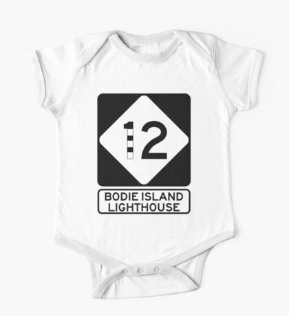 NC 12 - Bodie Island Lighthouse One Piece - Short Sleeve