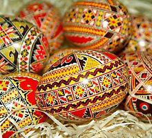 Easter Eggs by Edmond  Hogge
