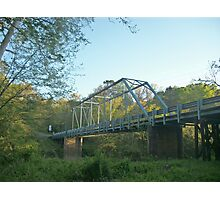 The Old Steel Bridge Photographic Print
