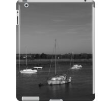 Five Boats (B&W) iPad Case/Skin