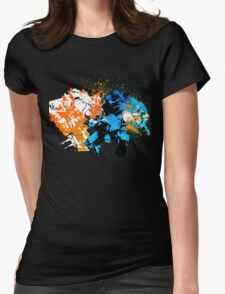 Titanfall: Titan Punch Womens Fitted T-Shirt