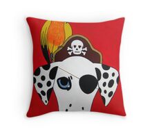 Dal-Matey Throw Pillow