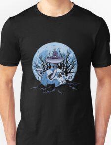 Skull Meditation Color T-Shirt