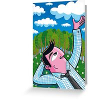 """""""The Cloud Catcher"""" (2010) Greeting Card"""