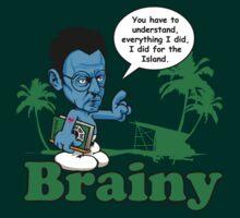 Lost Brainy Ben  by kgosselinart