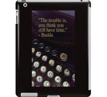 """""""Time"""" Vintage Typewriter Collection iPad Case/Skin"""