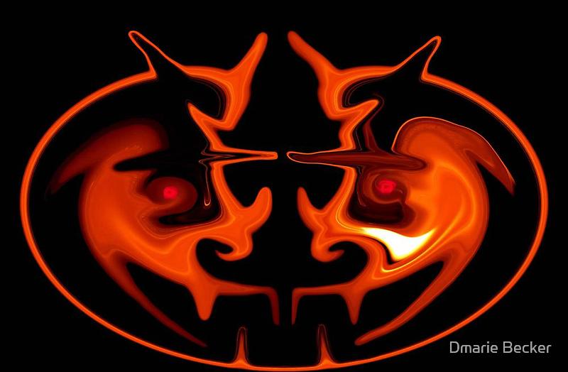Pumpkin Head by Dmarie Frankulin