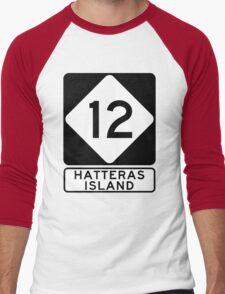 NC 12 - Hatteras Island Men's Baseball ¾ T-Shirt