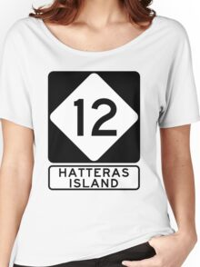 NC 12 - Hatteras Island Women's Relaxed Fit T-Shirt