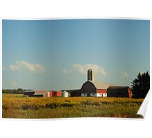Farm, 11298 County Highway S, Milladore, Wisconsin Poster