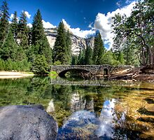 Yosemite River by Jonathan  Russell