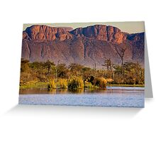 Elephant in Paradise Greeting Card