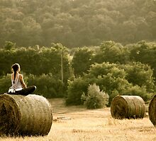 Presence of Mind - Hay Bale Relaxation in Hungary by Kutor