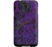 Massachusetts  USGS Historical Topo Map MA Ayer 349981 1966 24000 Inverted Samsung Galaxy Case/Skin