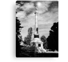 NY Civil War Monument Canvas Print