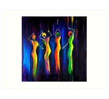 WOMENS DAY CELEBRATIONS SOUTH AFRICA Art Print
