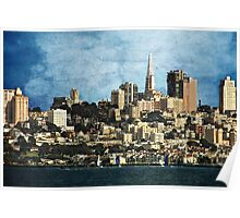 City By The Bay Poster